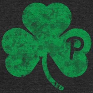 Pittsburgh Pennsylvania Shamrock T-Shirts - Unisex Tri-Blend T-Shirt by American Apparel