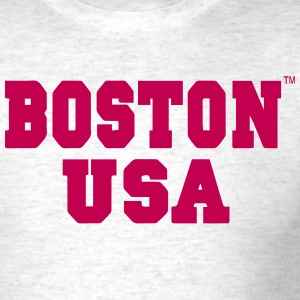 BOSTON USA - Men's T-Shirt