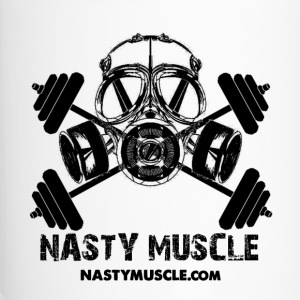 Nasty Muscle Tavel Mug (White) - Travel Mug