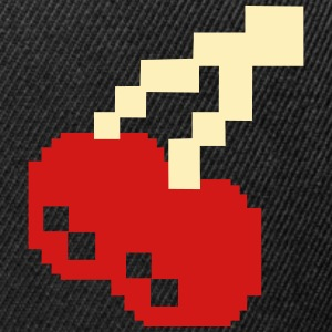 8bit Cherries Caps - Snap-back Baseball Cap
