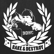 Design ~ Bake and Destroy Tote Bag