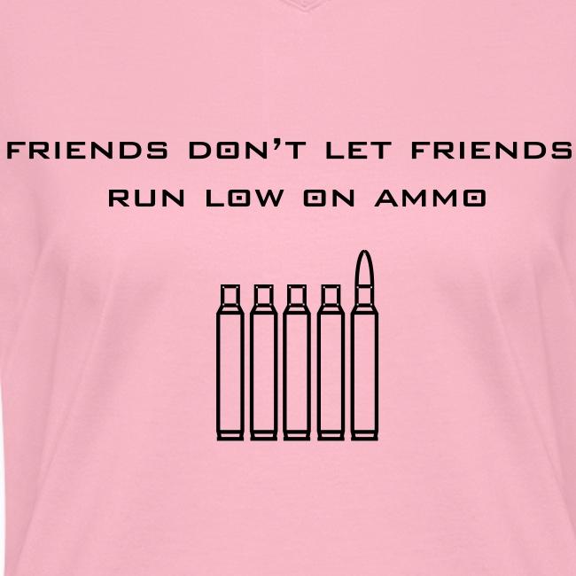 Friend's Ammo Girls V-Neck