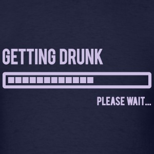 Getting drunk level indicator - Men's T-Shirt