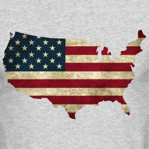 Vintage USA Long Sleeve Shirts - Men's Long Sleeve T-Shirt by Next Level