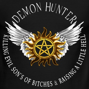 Demon Hunter  protection Symbal Flames 08 T-Shirts - Men's Ringer T-Shirt