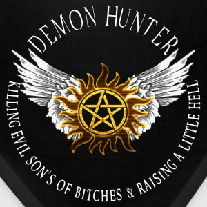 Demon Hunter  protection Symbal Flames 08 Caps - Bandana