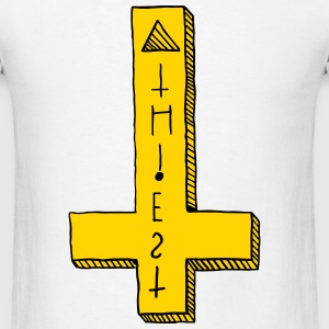 Atheist Cross - Men's T-Shirt