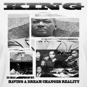 King Dream Pieces (ladies tee) - Women's T-Shirt