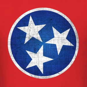 tennessee state flag - Men's T-Shirt