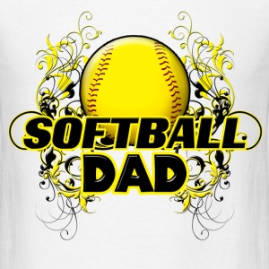 Softball Dad (cross) T-Shirts - Men's T-Shirt