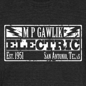 MP Gawlik Electric - Unisex Tri-Blend T-Shirt by American Apparel