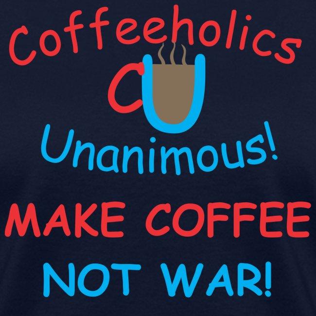 CU coffee not war f