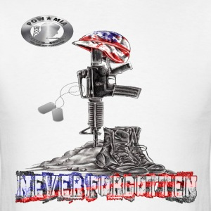 NEVER FORGOTTEN 2013 - Men's T-Shirt