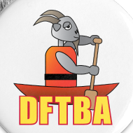 Design ~ Goat in Canoe Mini-Buttons