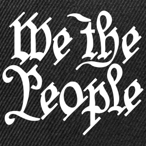 we the people Caps - Snap-back Baseball Cap