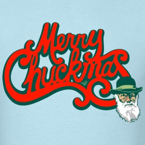 Merry Chuckmas by Tai's Tees - Men's T-Shirt