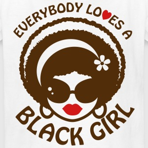 Everyone Loves a Black Girl Kid's Size Shirt - Kids' T-Shirt