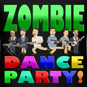 ZOMBIE DANCE PARTY! TEE - Men's T-Shirt