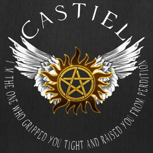 Castiel Protection Symbol Bags  - Tote Bag