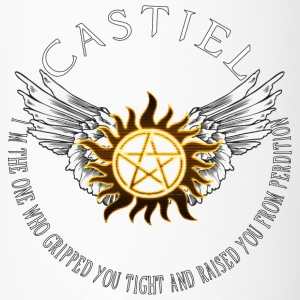 Castiel Protection Symbol Bottles & Mugs - Travel Mug