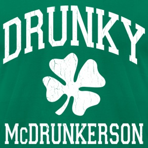 Drunky McDrunkerson - Men's T-Shirt by American Apparel