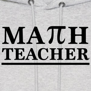 Math Teacher Pi Hoodies - Men's Hoodie