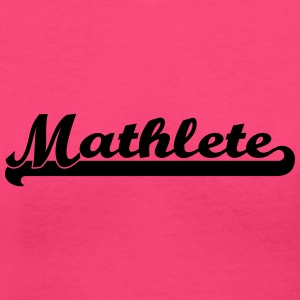 Mathlete Women's T-Shirts - Women's V-Neck T-Shirt