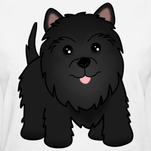 Cute Little Scottie Dog Scottish Terrier - Women's T-Shirt