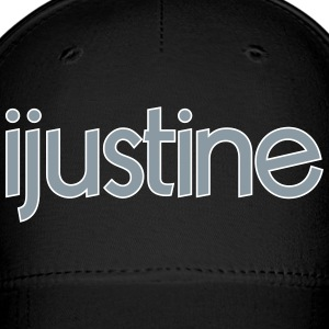 ijustine logo mp Caps - Baseball Cap