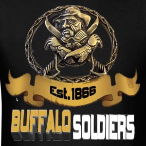 Buffalo Soldiers - Men's T-Shirt
