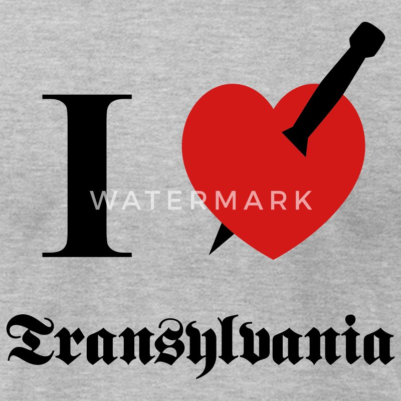 I love Transylvania T-Shirts - Men's T-Shirt by American Apparel