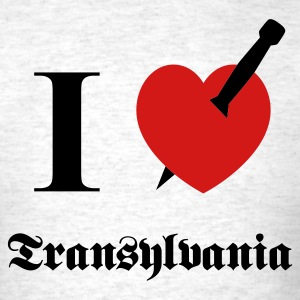 I love Transylvania T-Shirts - Men's T-Shirt