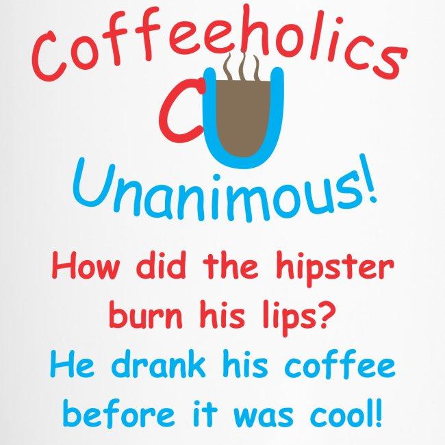 CU hipster travel mug
