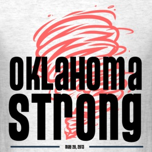 oklahoma strong - Men's T-Shirt