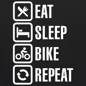 Eat sleep bike repeat  Sweatshirts - Kids' Hoodie