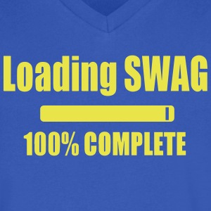 Loading SWAG T-Shirts - Men's V-Neck T-Shirt by Canvas