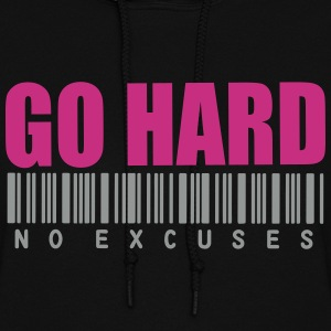 GO HARD NO EXCUSES Hoodies - Women's Hoodie