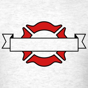 Fire Department Emblems T-Shirts - Men's T-Shirt