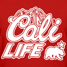 Design ~ Cali Life Women's T-Shirts