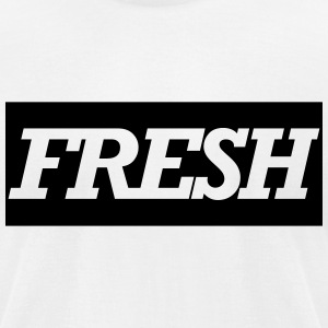 fresh T-Shirts - Men's T-Shirt by American Apparel