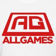 Design ~ All Games Logo Red (Womens)