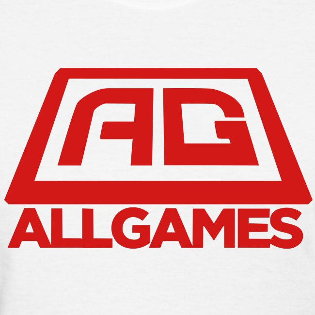 All Games Logo Red (Womens)