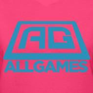All Games Logo Blue (Womens)