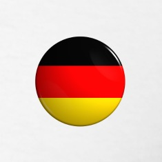 "Country Button Flag ""Germany"""