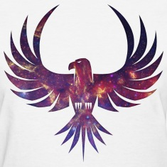 Cosmic Bird of Prey Women's T-Shirts