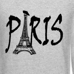 Paris Long Sleeve Shirts - Crewneck Sweatshirt