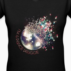 """I'm A Dance Druggie"" Exploding Disco Ball.png Women's T-Shirts"