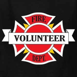 Fire Department Volunteer Kids' Shirts - Kids' T-Shirt