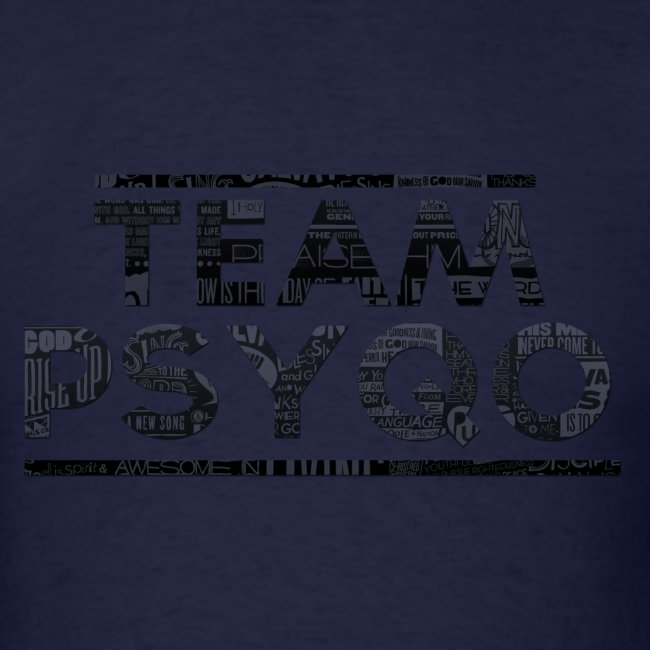 Lettered TEAM PSYQO - Standard Men's T-shirt