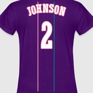 JOHNSON #2 THROWBACK Women's T-Shirts - Women's T-Shirt